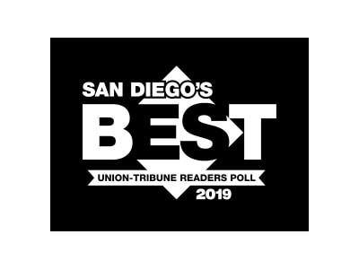2019 Best San Diego's Union-Tribune Readers Poll Award