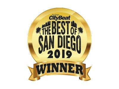 2019 Winner Best of San Diego Award