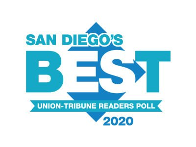 2020 Best San Diego's Union-Tribune Readers Poll Award
