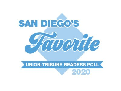 2020 Favorite San Diego's Union-Tribune Readers Poll Award