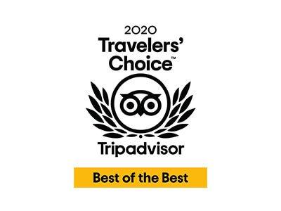 2020 Tripadvisor Travelers' Choice Best of the Best